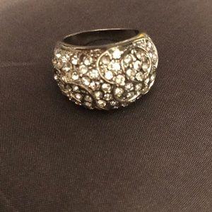 Ladies size 9 statement ring. Costume jewelry..